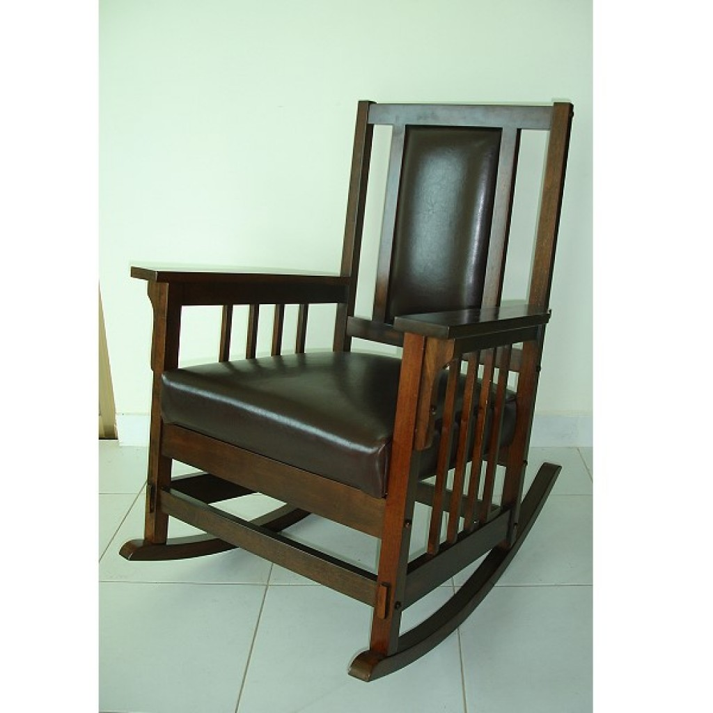 1615-6628 Wood Rocking Chair